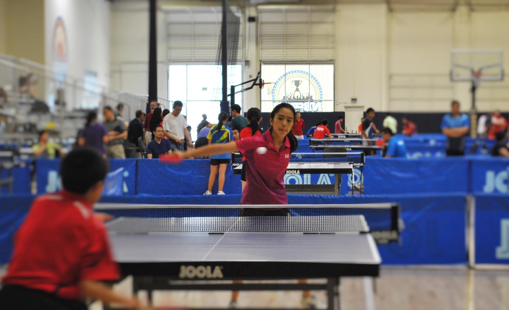 Athlete of the Month: Table Tennis Player Emily Mo