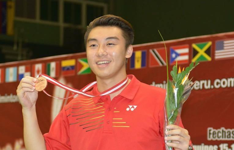 Senior Terrence Wu ranks first in nation for badminton