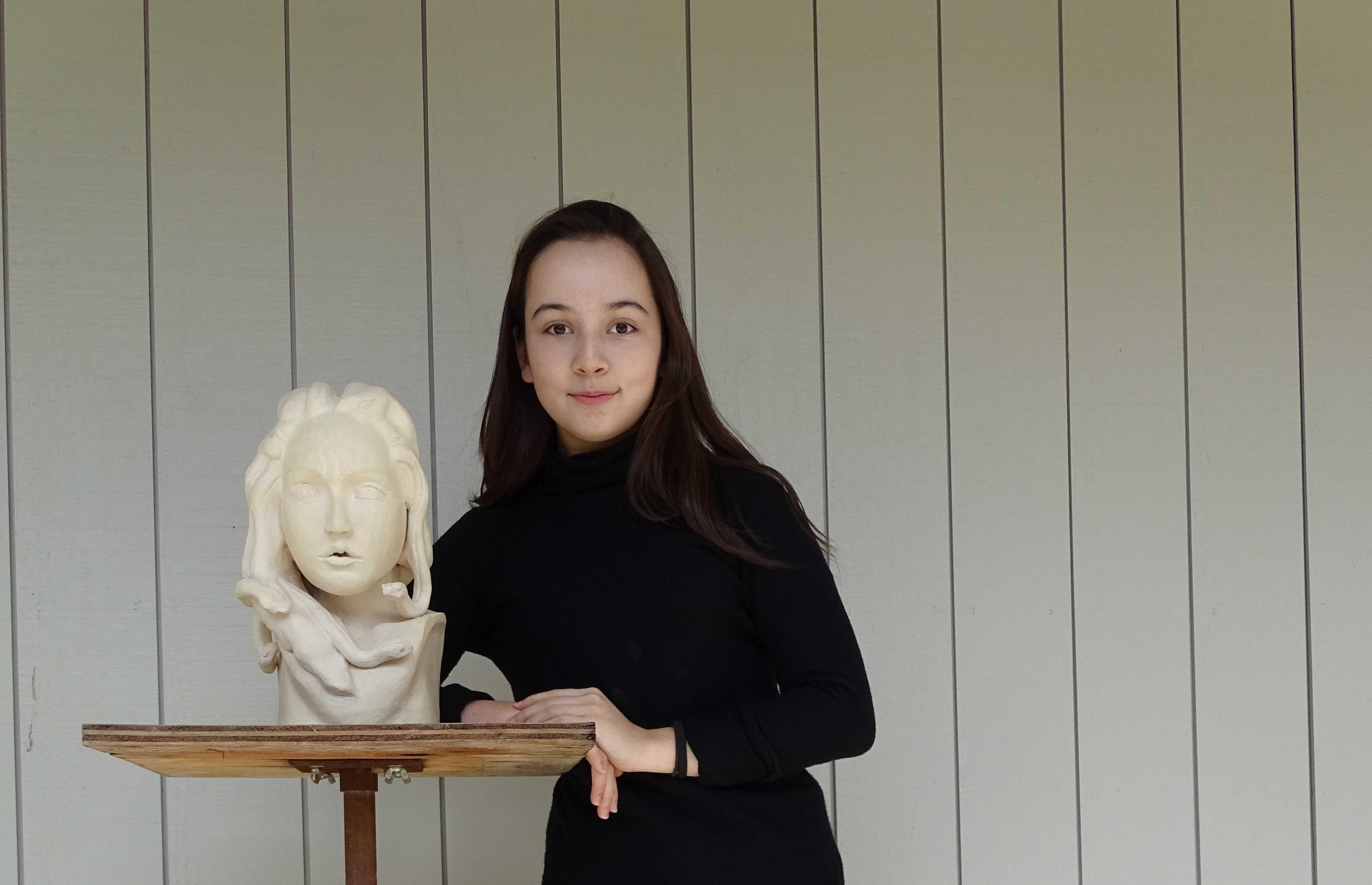Artist of the Month Q&A: junior Clarissa Daniel