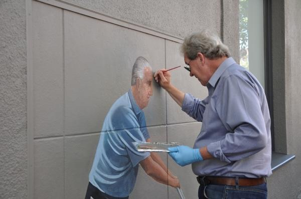 The Artist Behind the Art: How Greg Brown's murals changed Palo Alto