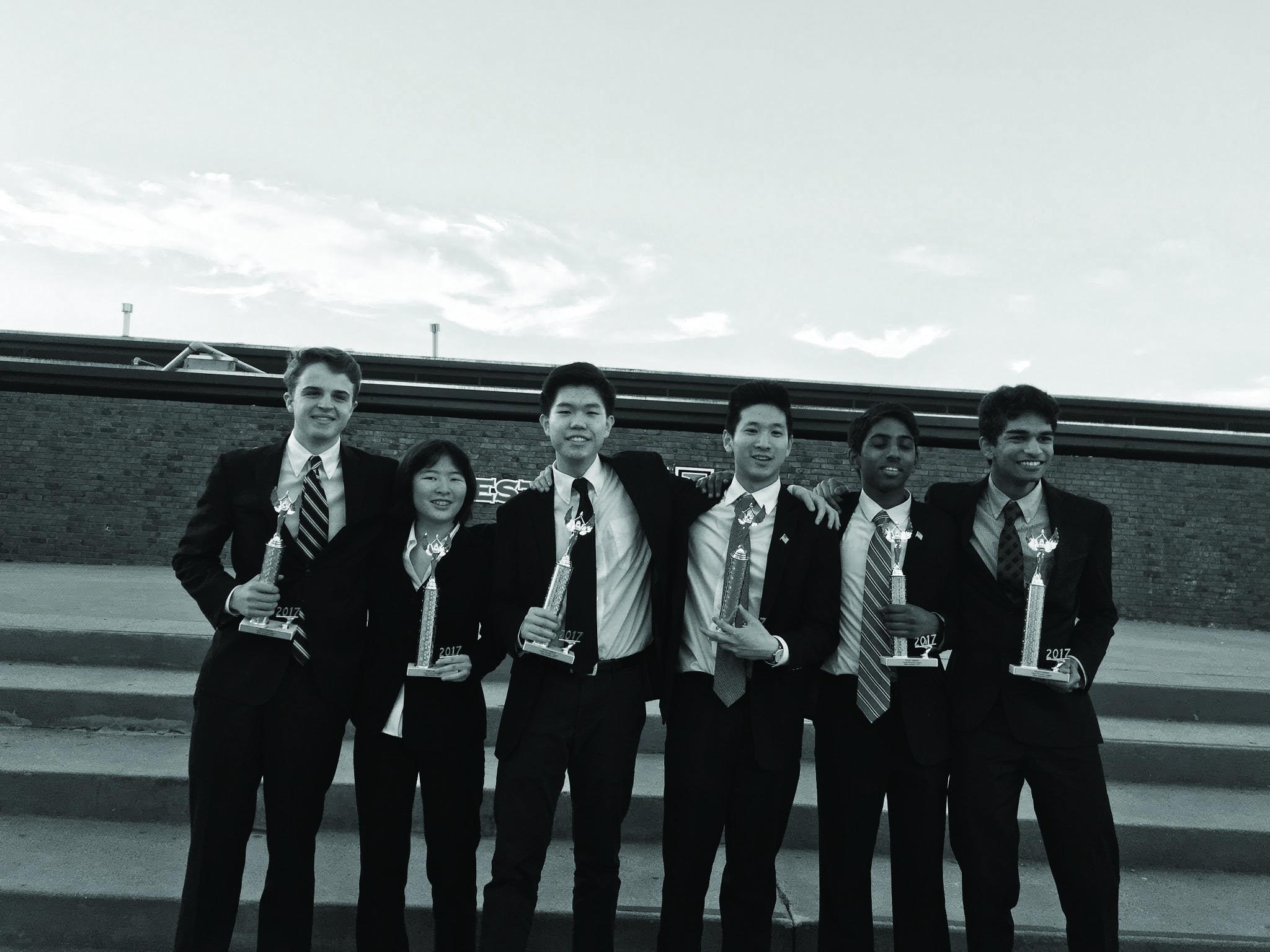 Debate team dominates regional, league tournaments