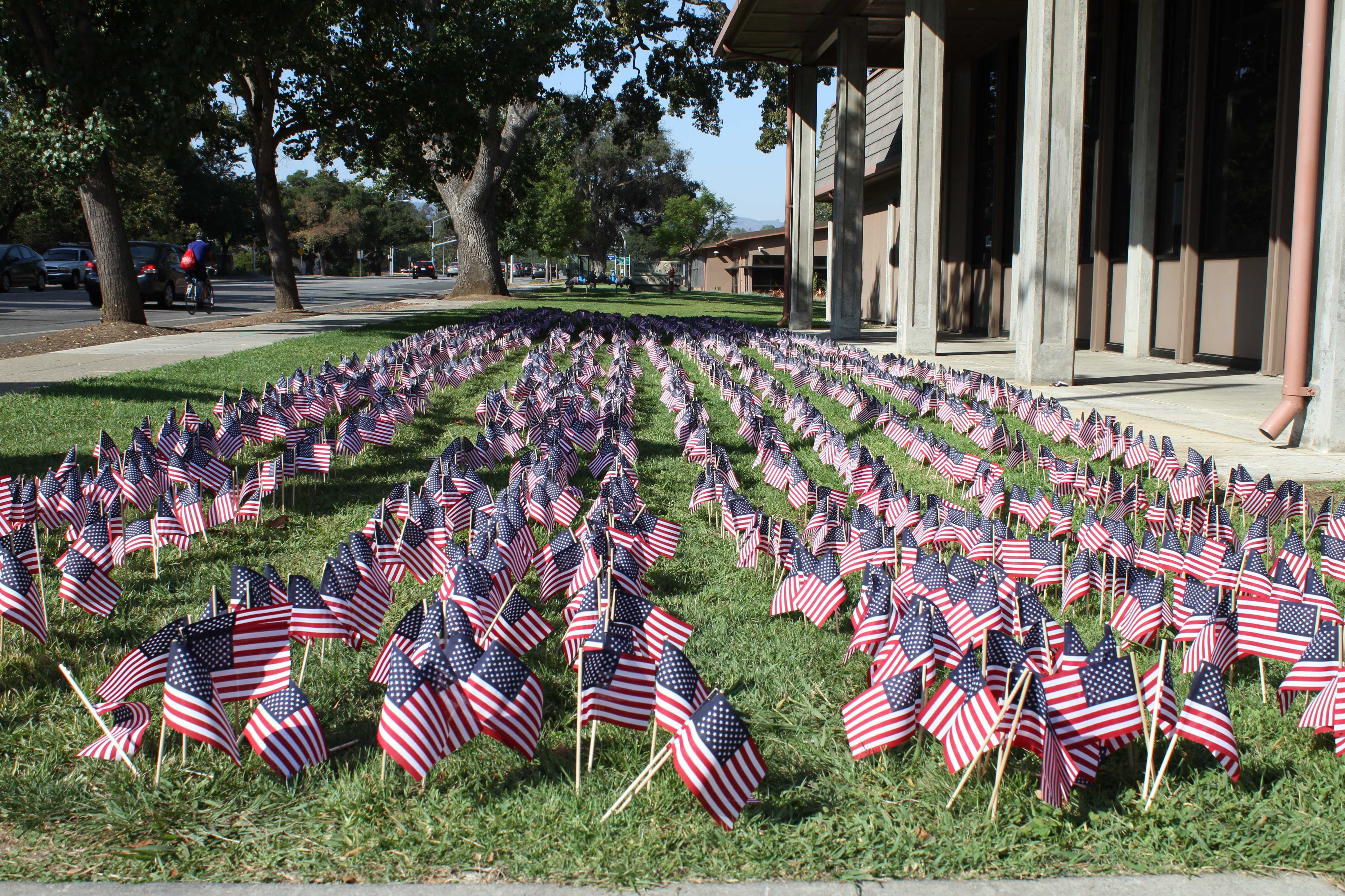 Students commemorate 9/11