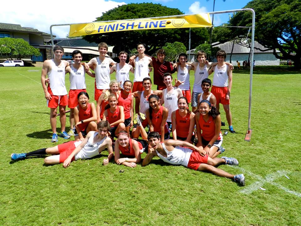 Cross country competes in Punahou Invitational in Hawaii