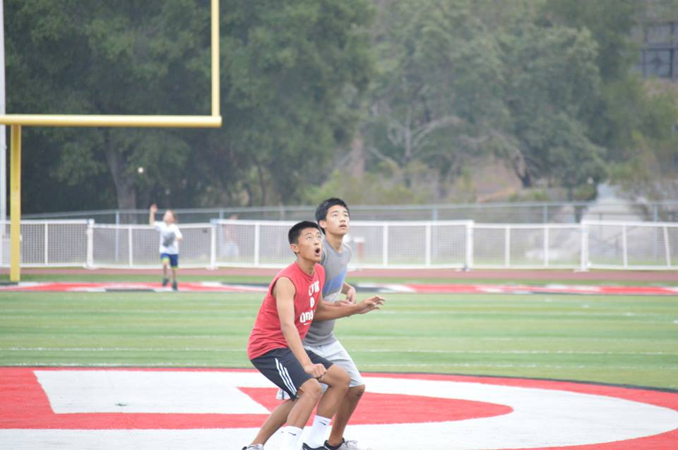 Ultimate frisbee club focuses on competing, team building