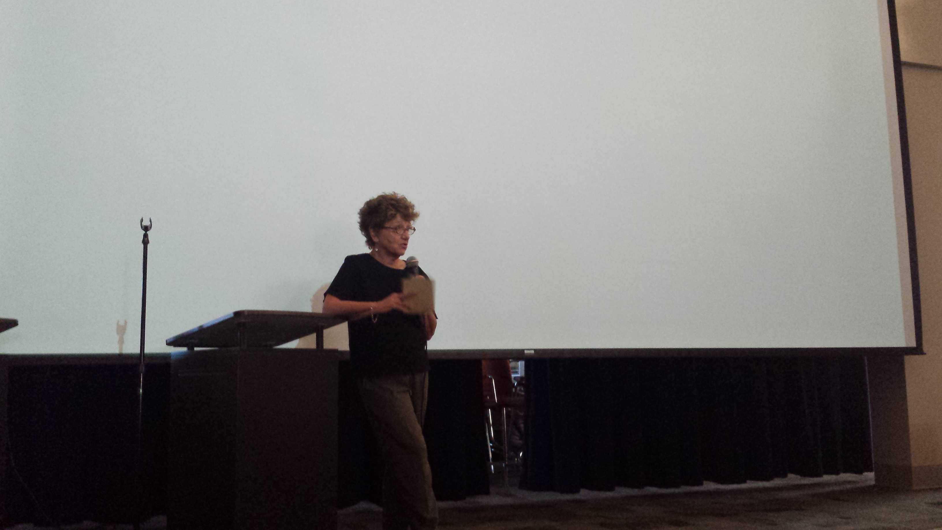 Moritz speaks about the making of