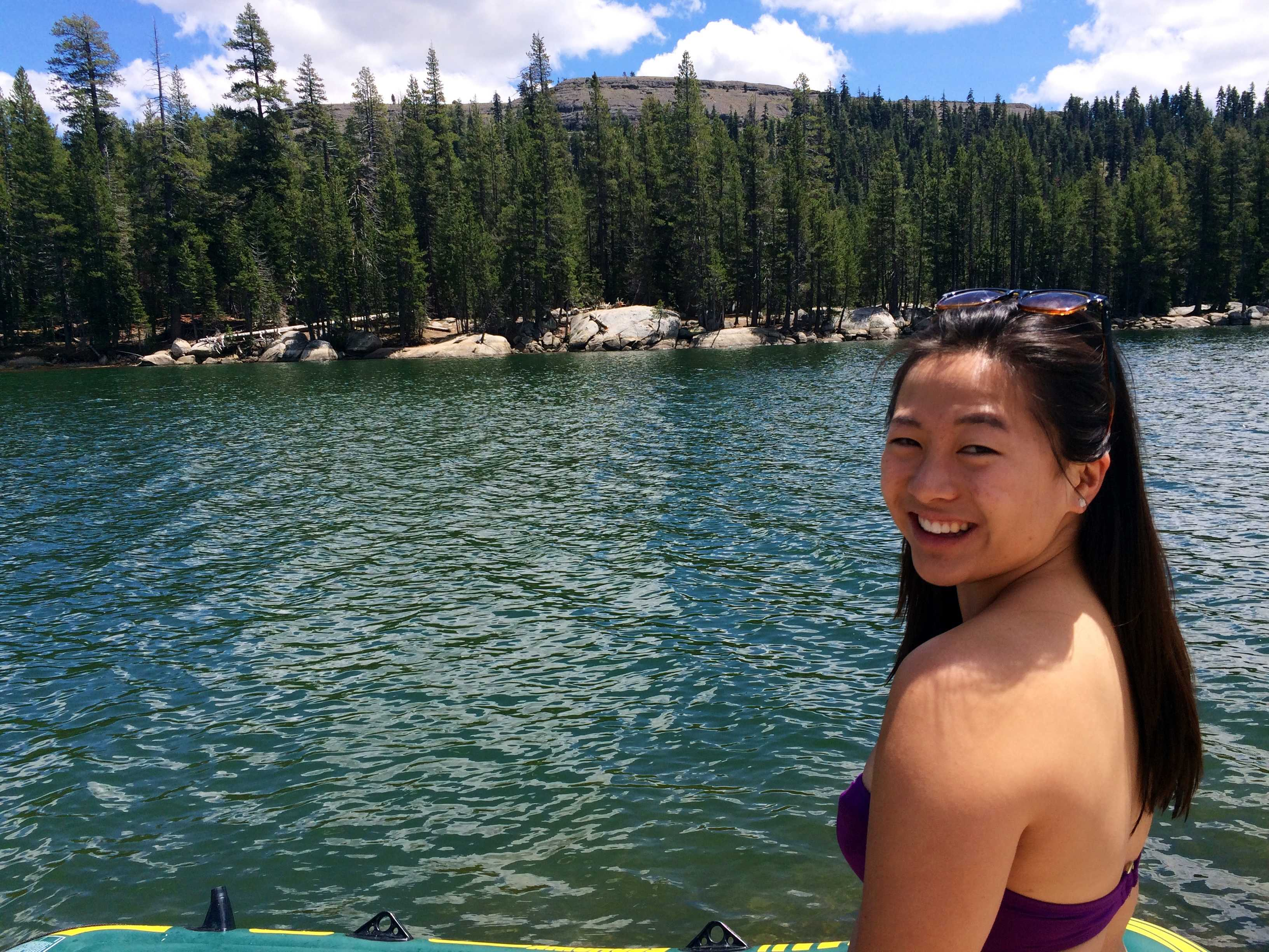 Choosing all in: senior Lisa Hao's journey of recovery