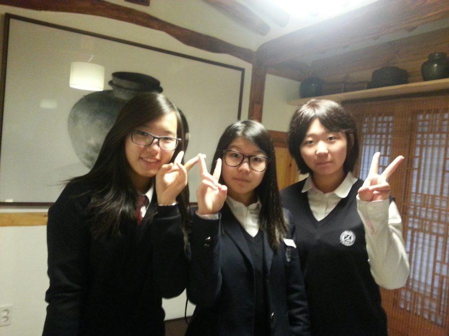 Korean social customs emphasize respect
