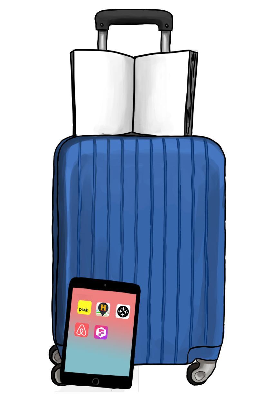 suitcase ipad book copy