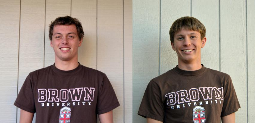 Seniors Max Pokutta and Michael Lincoln commit to Brown University