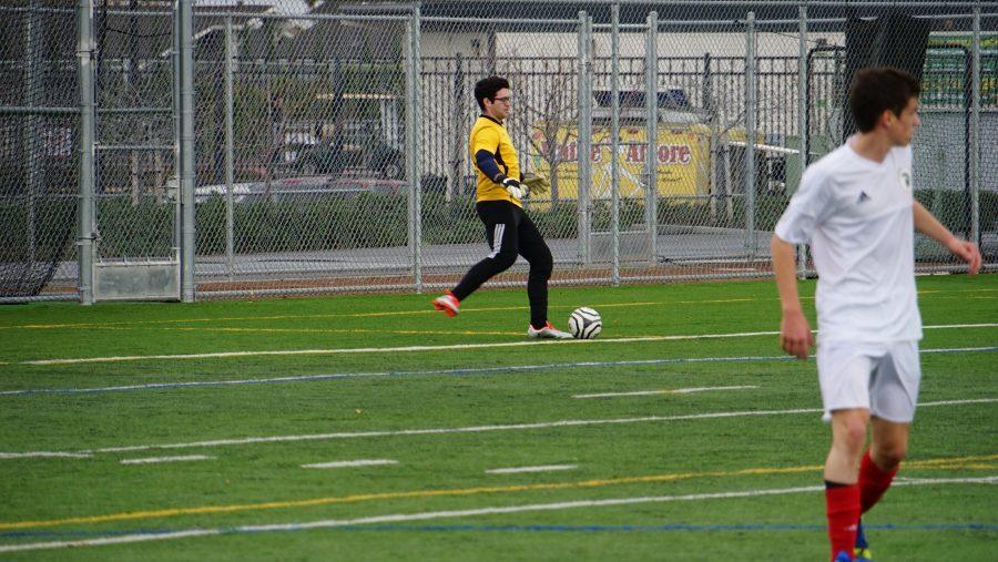 Second semester senior joins soccer team