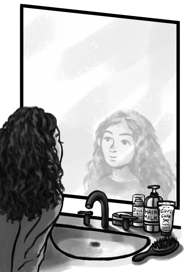 Curly hair should be embraced, not shunned