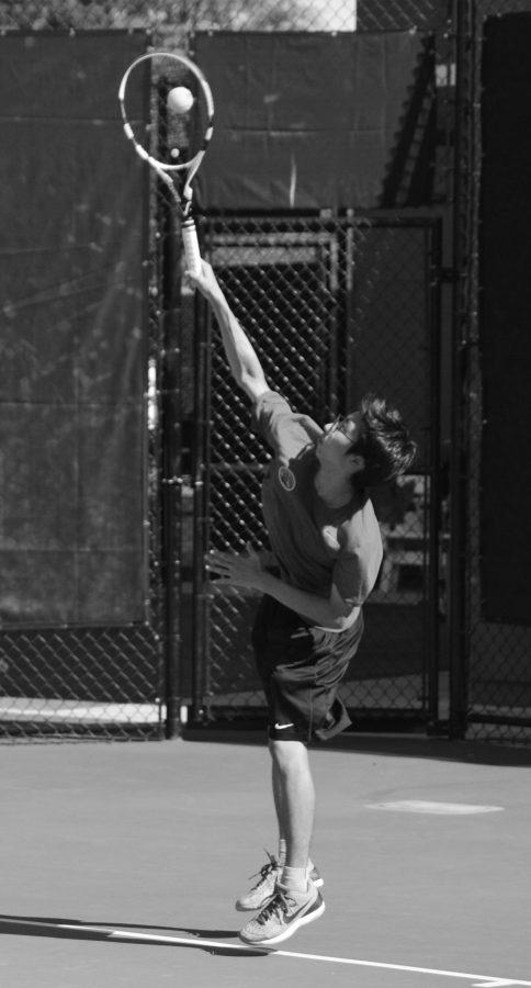 Spring sports race through the start of their season: Boys' Tennis