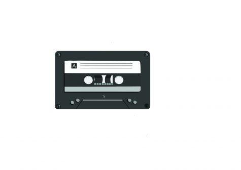 cassett tape ready