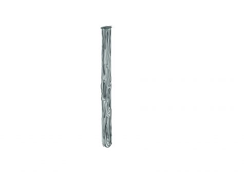 grayscaled direction wooden pole