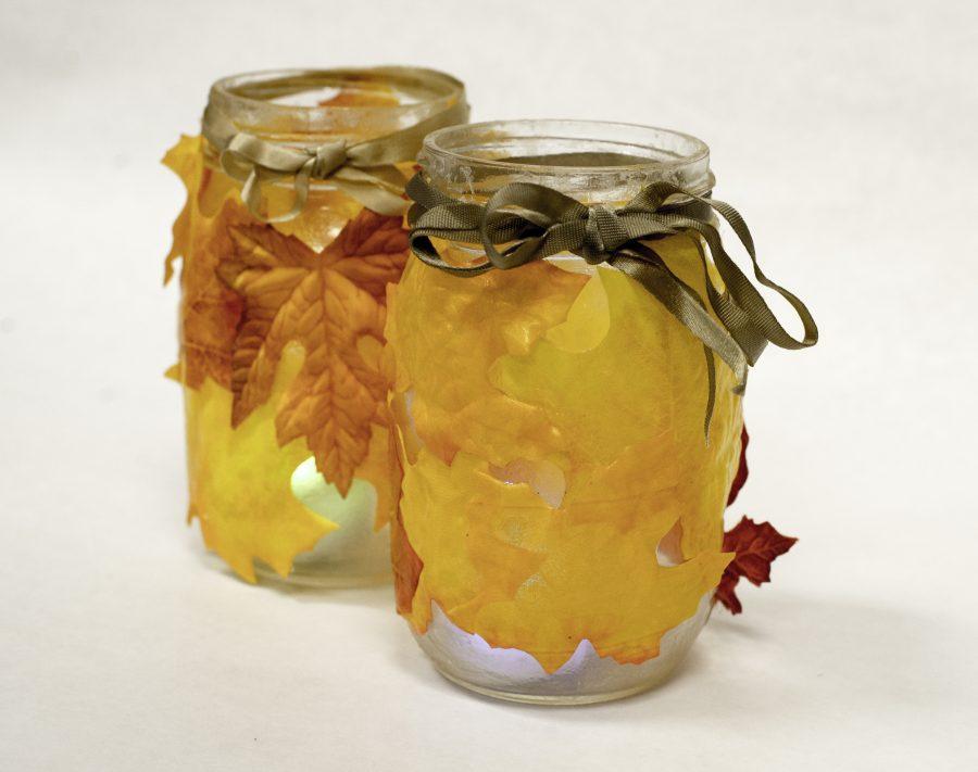 DIY Halloween Pinterest crafts bring festivity: candle holders