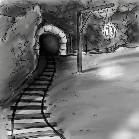 Spooky mine