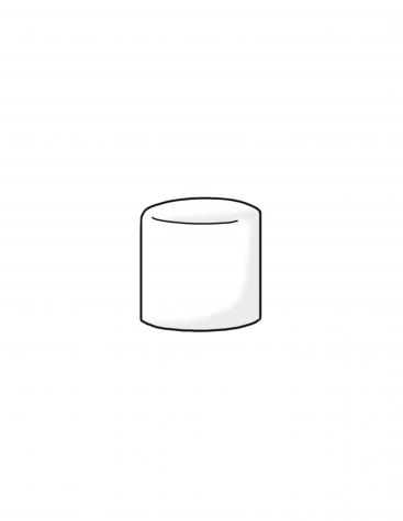 marshmallow-shadowed