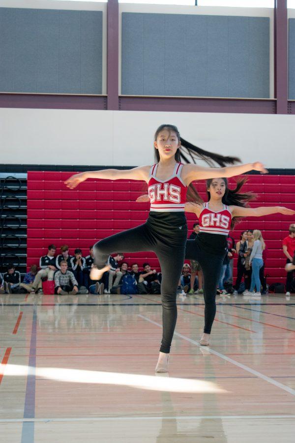Winter athletes maintain their competitive edge as season progresses: Dance team