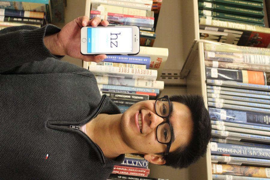 Senior turns inspirations into mobile applications