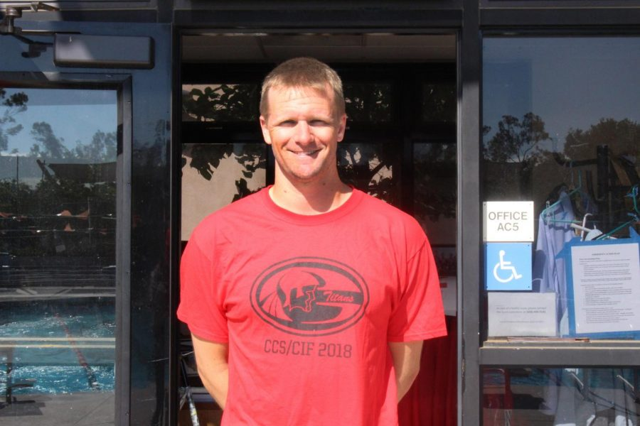 Swim coach departs Gunn to test new waters