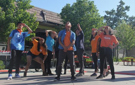 Students perform in N-side Lands festival