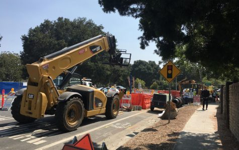Construction across Palo Alto affects student commutes