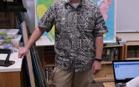 Back to nature: Q&A with social studies teacher Chris Johnson