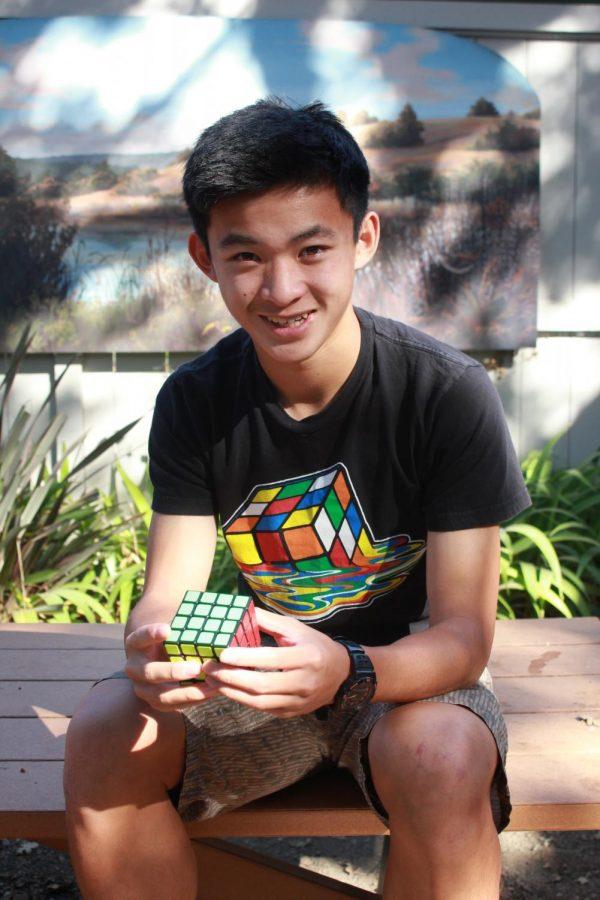 Ryan Wang Reaches Rapid Times Solving Rubik's Cubes