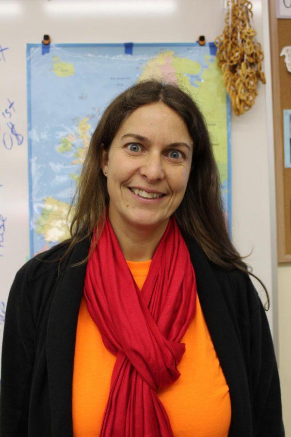 World language teachers win awards of excellence: German Teacher Claudia Schroeppel