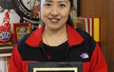 World language teachers win awards of excellence: Chinese teacher Yanan Vrudny