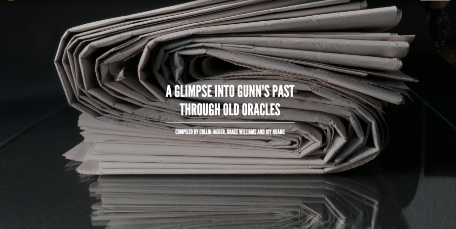 A glimpse into Gunn's past through old Oracles