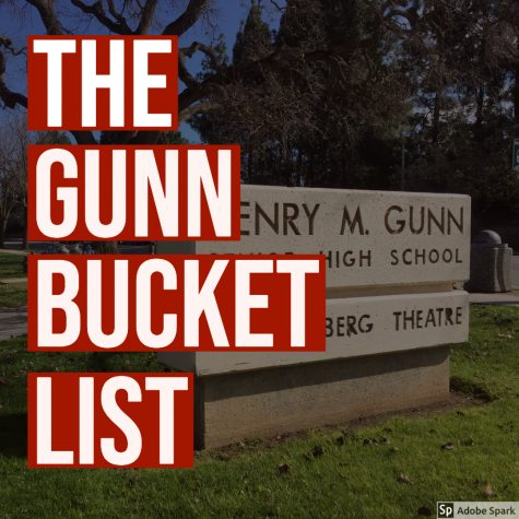 The Gunn Bucket List: all the things you should do before graduation