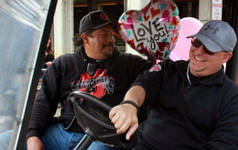 The men behind the golf carts: Jorge Sanchez, Travis Schollnick form close friendship as campus security