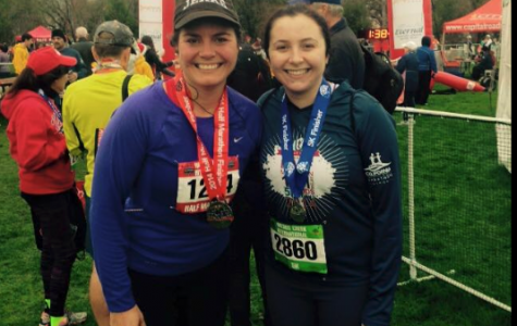 Staff members participate in marathons: Science Teacher Maria Powell