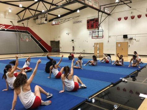 Winter athletes maintain their competitive edge as season progresses: Dance team