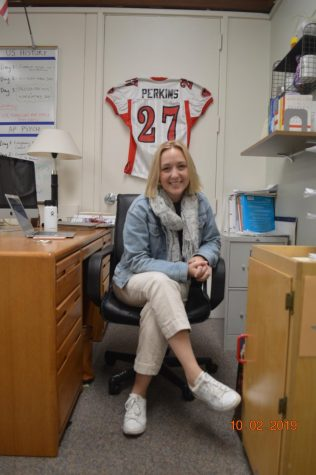Gunn alumni pause to reflect on their high school experiences: Social studies teacher Haley Perkins