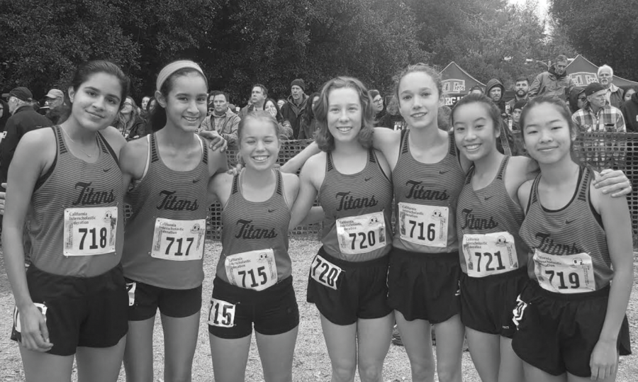 Girls cross country members reach state championships