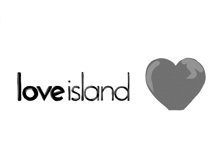 Love Island's logo.