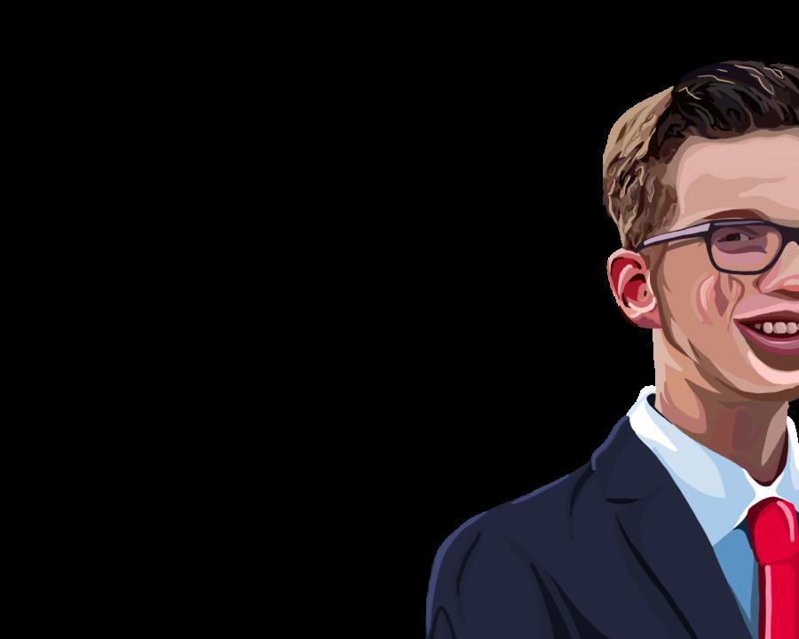Youth in politics: sophomore Paul Kramer takes political initiative