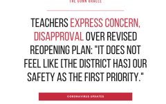 Teachers express concern, disapproval over revised reopening plan: