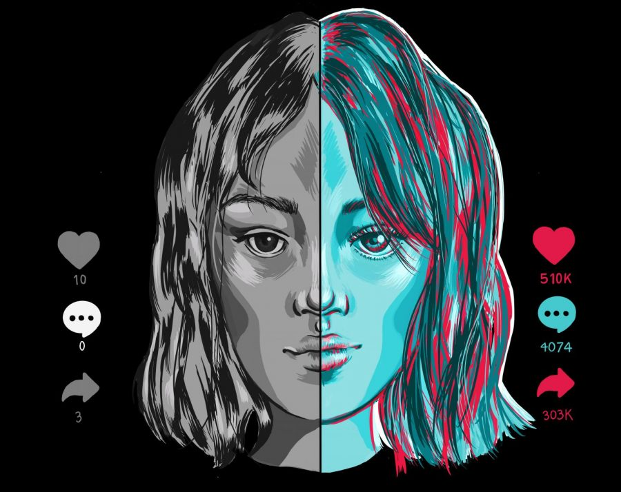 Through the looking glass: TikTok pushes a skewed beauty standard to new heights–and onto teens