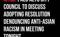 Palo Alto City Council votes unanimously to prepare resolution condemning anti-Asian racism