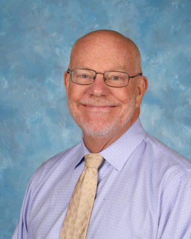 Retiring staff: James Shelby