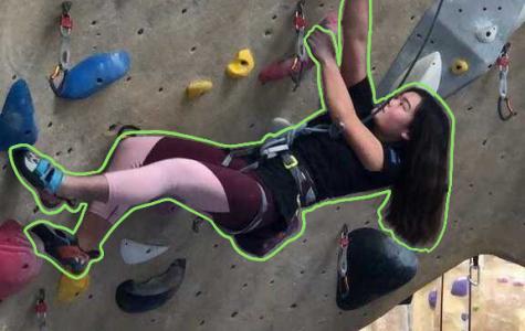 Kimi Sato: Rock Climbing